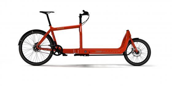 Bullitt Custom Bike Pepper   Alfine 8 Gates Gruppe