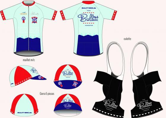 Bullitt-Bike Hangover Radtrikot