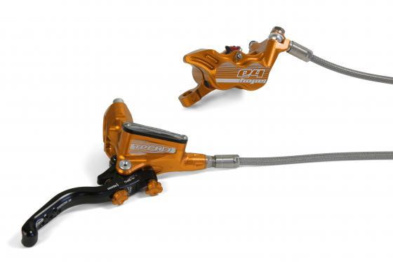 Hope Tech 3 E4 Bremsenset mit Stahlflexleitungen