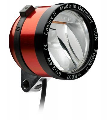 SON Edelux II Frontscheinwerfer für Nabendynamos