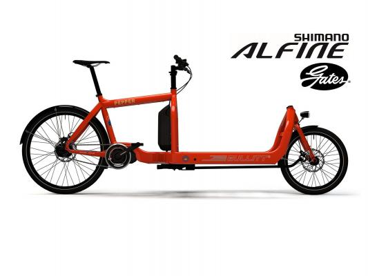 STePS eBullitt Bike 6100 Alfine 11 Gang Di2 mit Gates Riemen